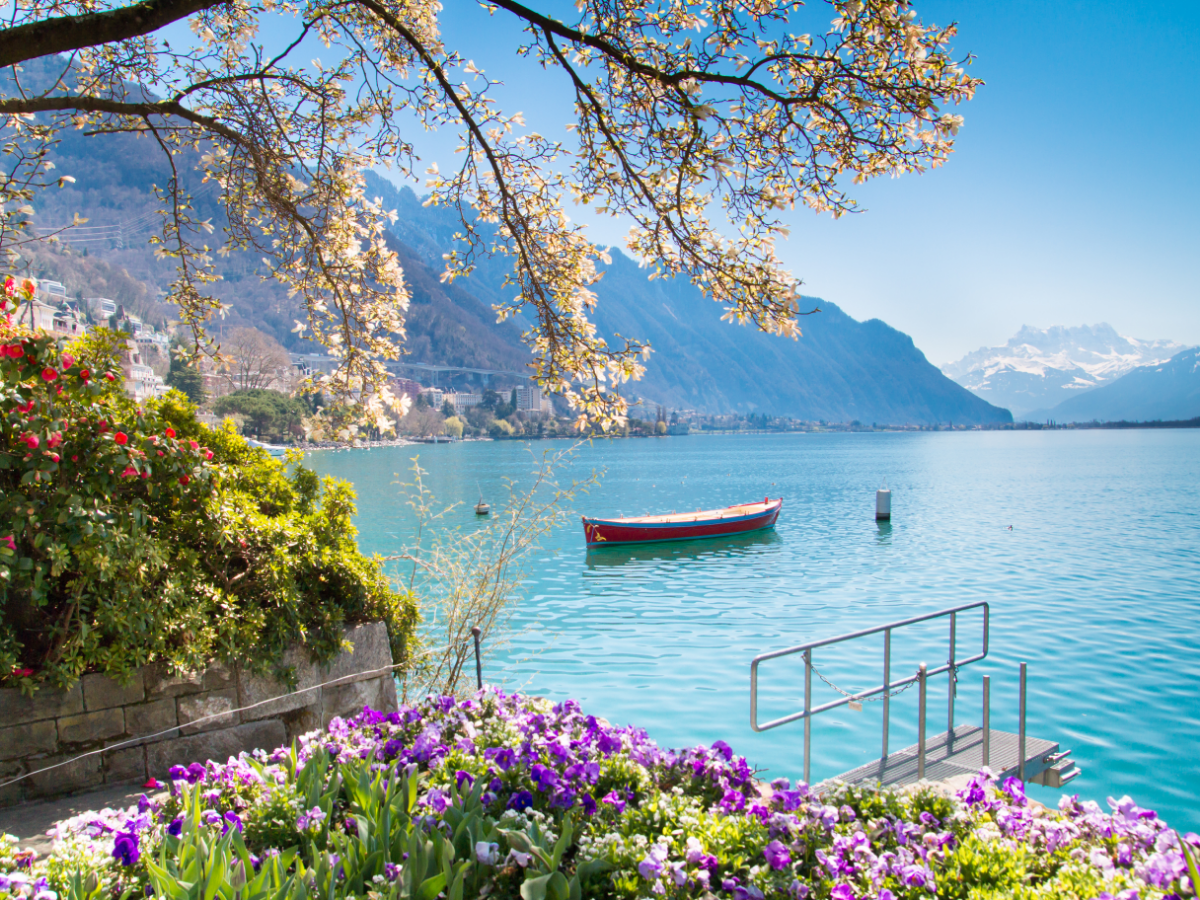 Swiss beaches that are ideal for a getaway