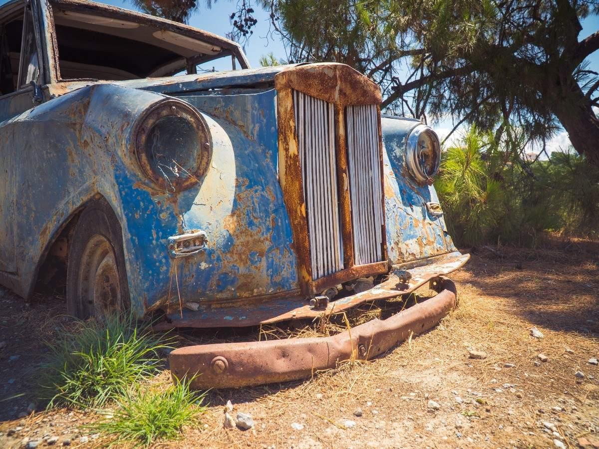 Inside Old Car City, the world's largest old car junkyard