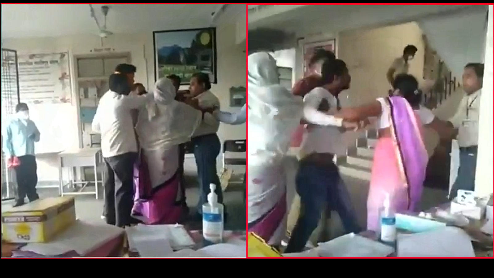 Man assaulted doctor at COVID-19 care facility in Gondia district of Maharashtra as his COVID-19 test came negative.