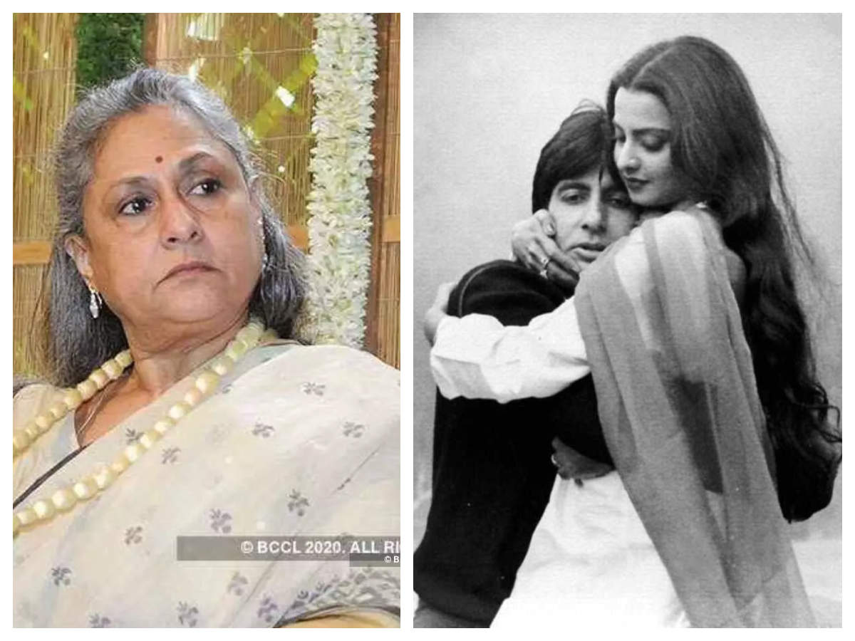 Jaya Bachchan And Amitabh Bachchan News: Throwback time! THIS is how Jaya  Bachchan reacted to husband Amitabh Bachchan and Rekha's link-up rumours