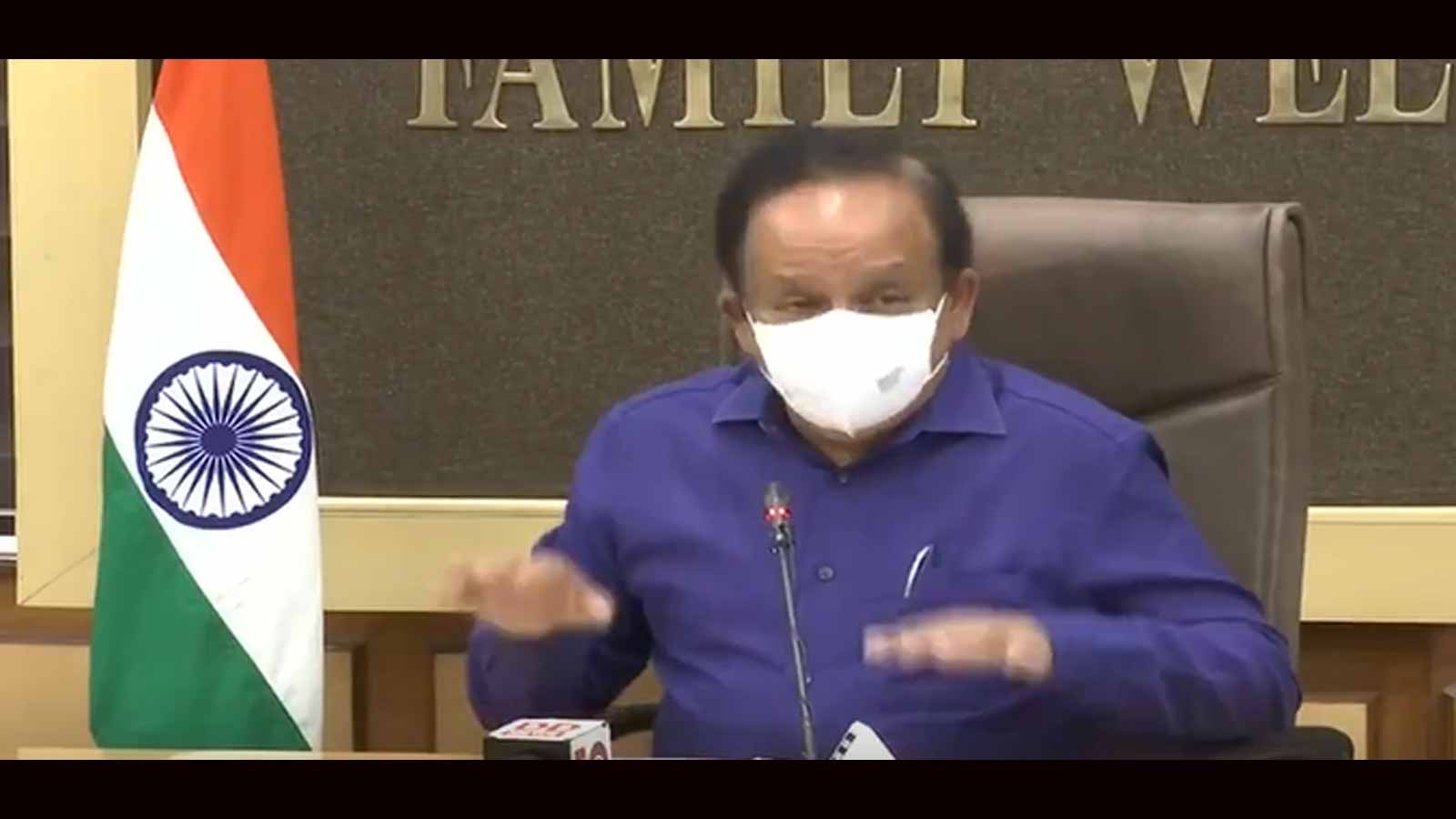 health-minister-dr-harsh-vardhan-briefs-aiims-staff-on-covid-situation