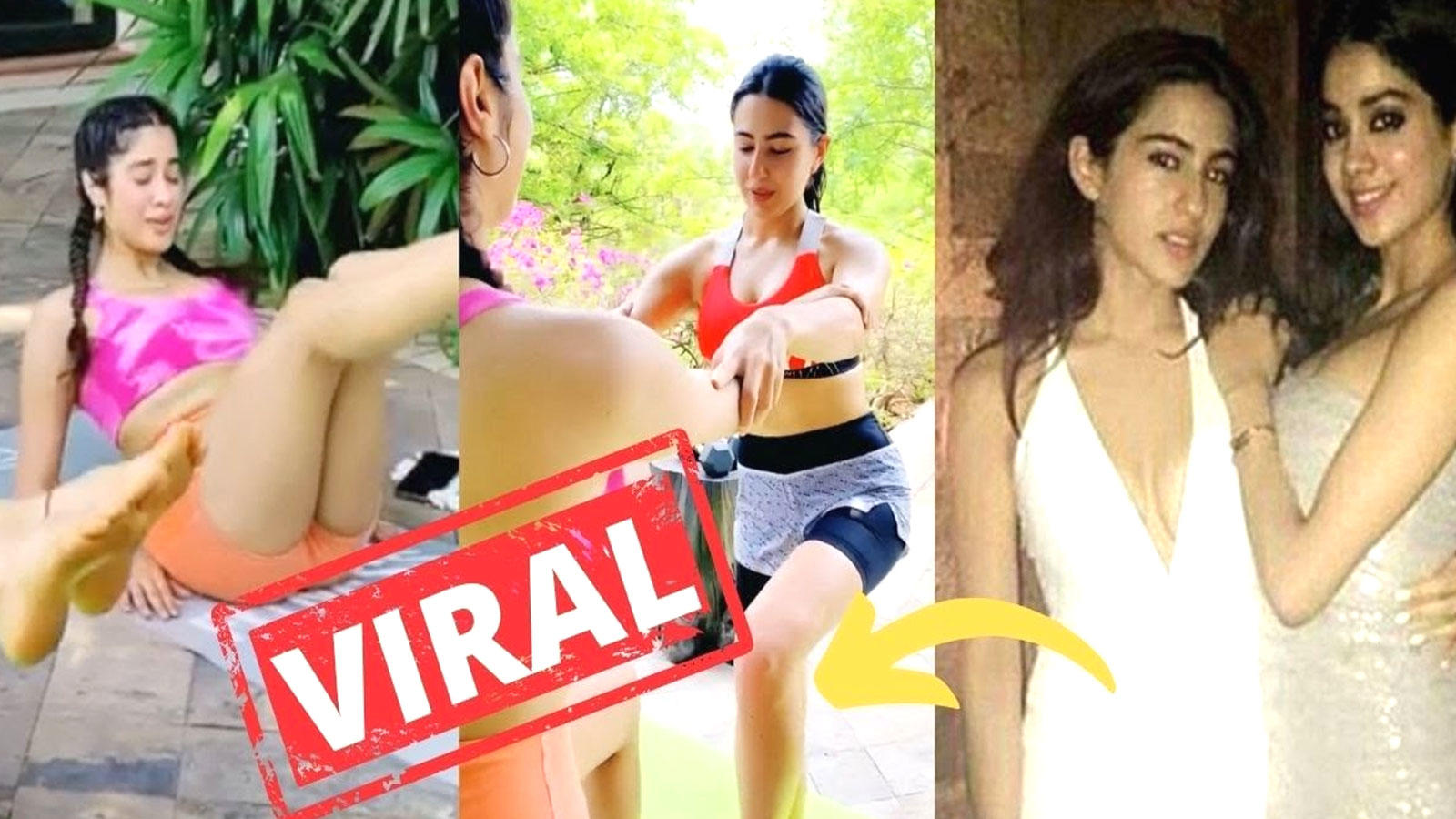 this-video-of-janhvi-kapoor-and-sara-ali-khans-workout-session-in-maldives-goes-viral
