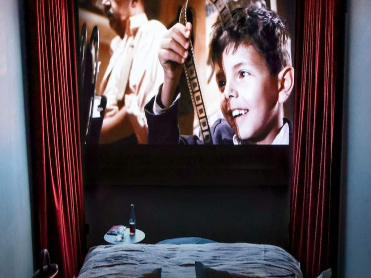A cinema-hotel has now opened in Paris