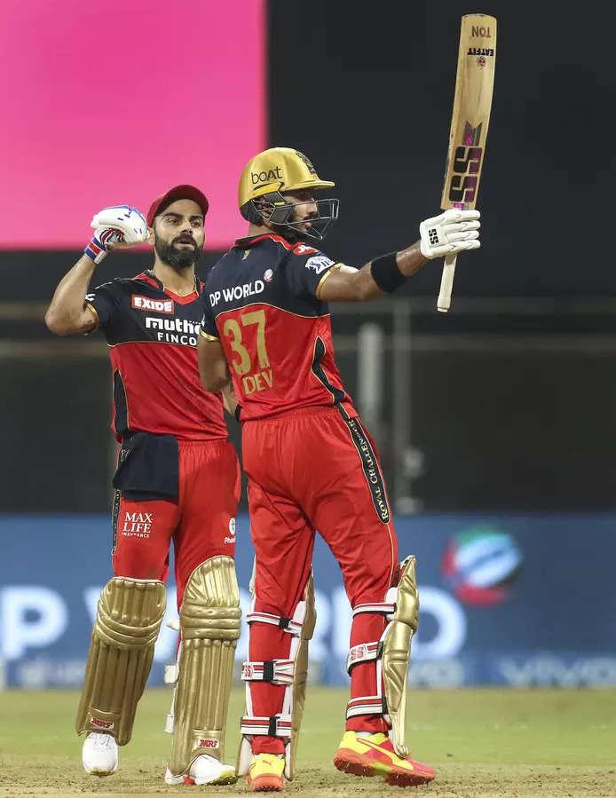 IPL 2021 : Padikkal, Kohli power RCB to 10-wicket win over RR