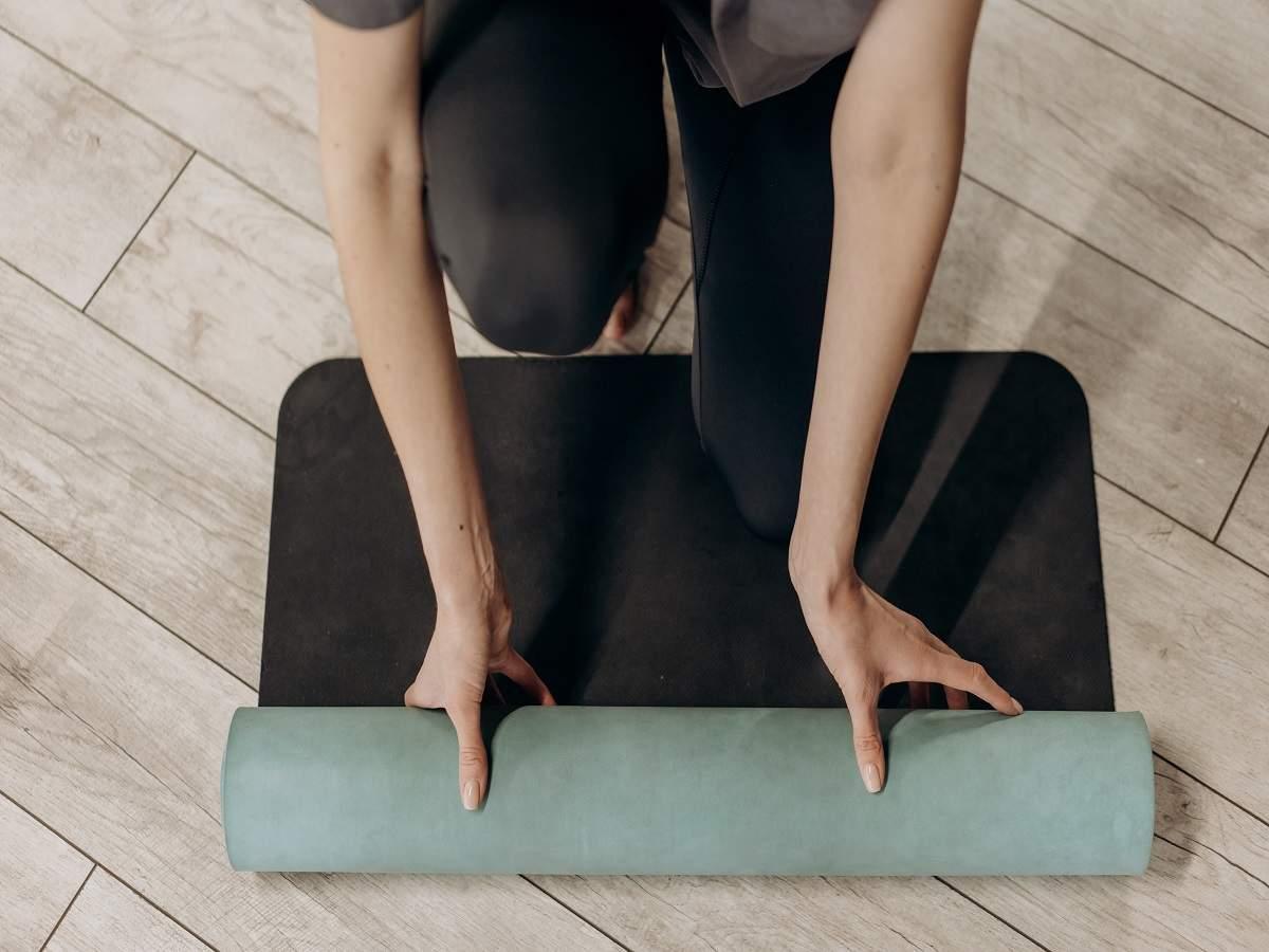 Thin Yoga Mats Lightweight