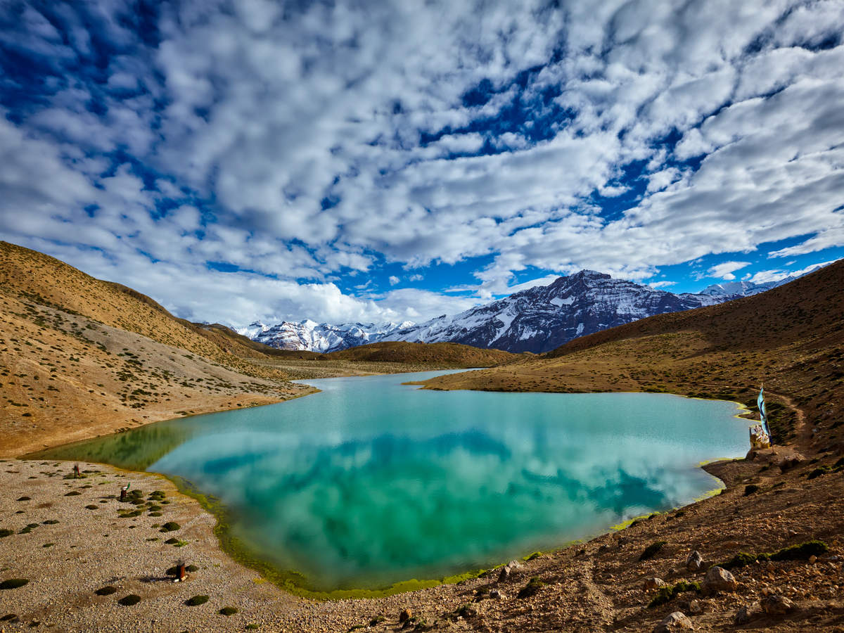 Dhankar Lake–a nature's wonder accessible after a tough trek in the Spiti Valley