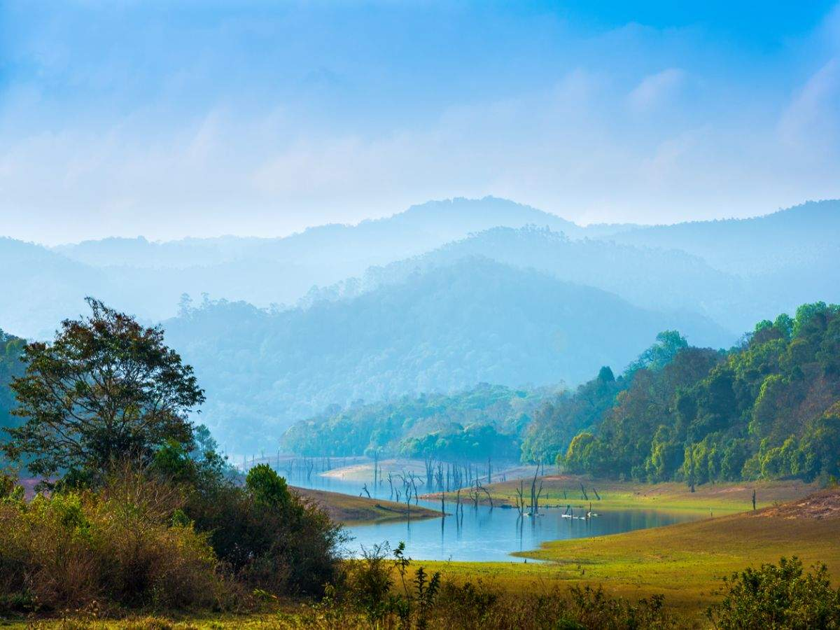 Heaven on earth—lakes in South India