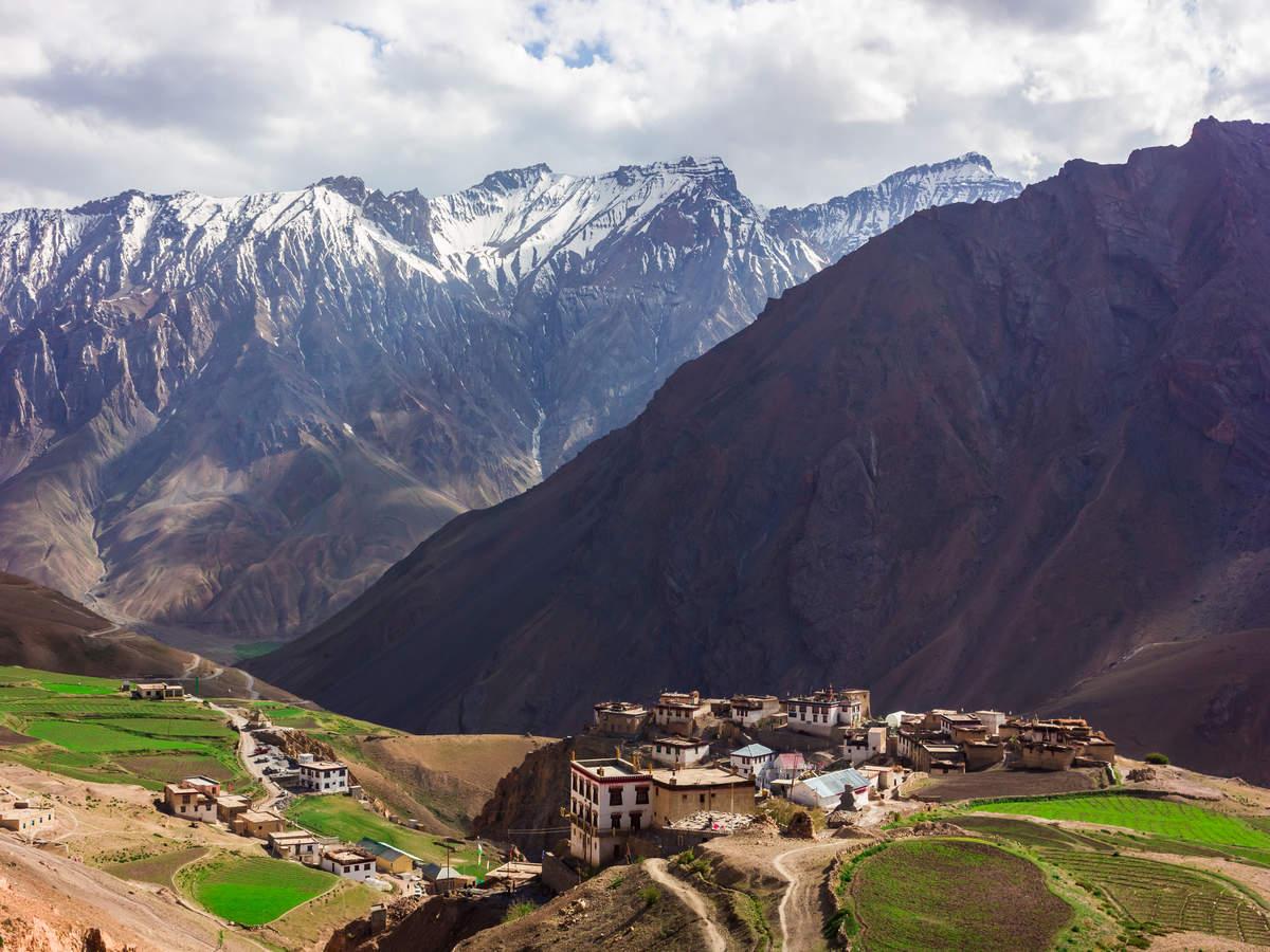 Kibber Village in Himachal Pradesh –the land of highest motorable road, post office and man-made bridge
