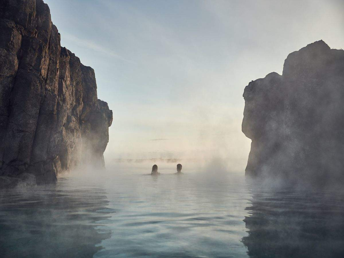 A deep dive into wellness at this geothermal lagoon in Iceland