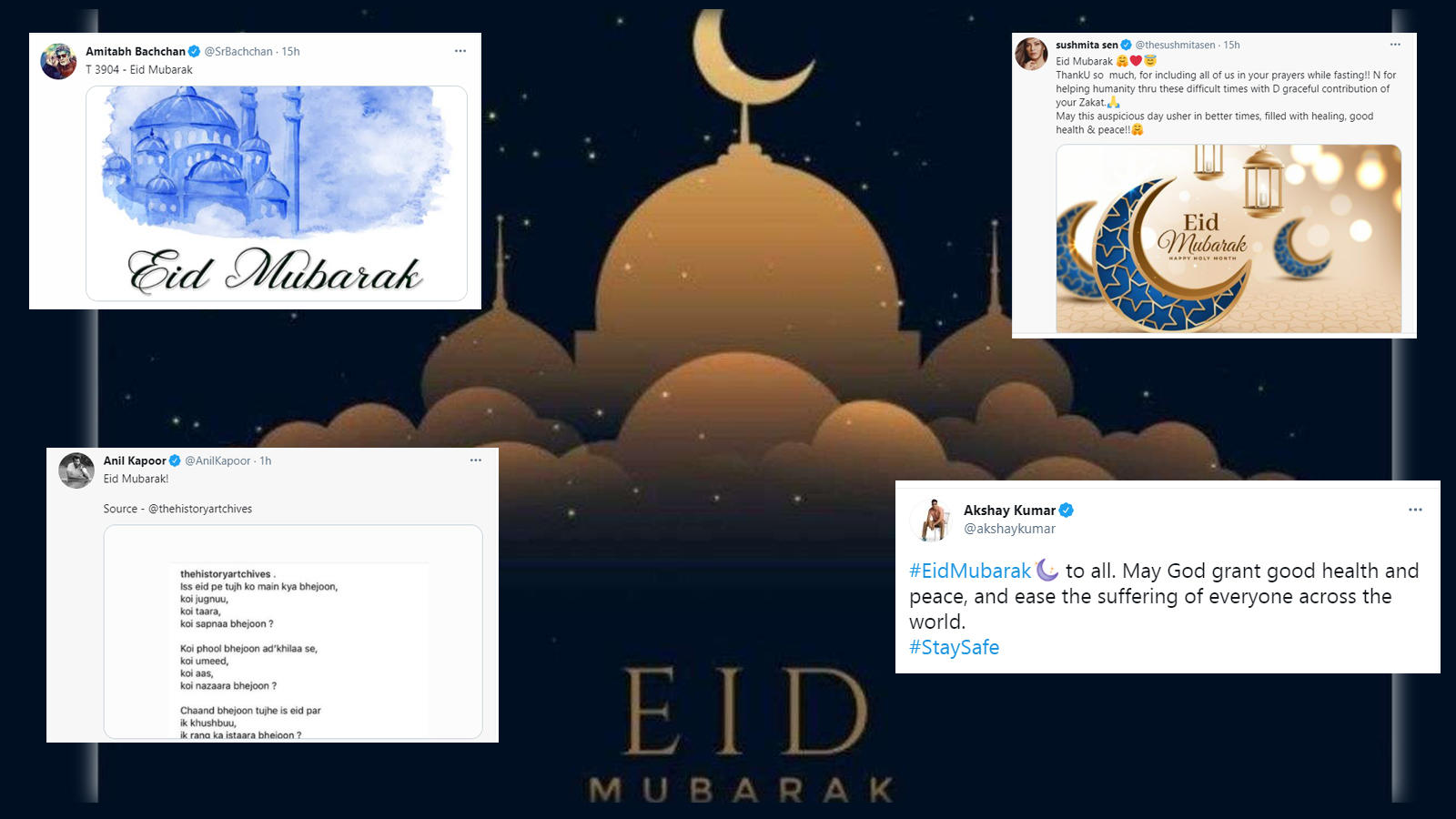eid-ul-fitr-2021-amitabh-bachchan-anil-kapoor-sushmita-sen-akshay-kumar-among-others-wish-a-happy-eid-to-fans