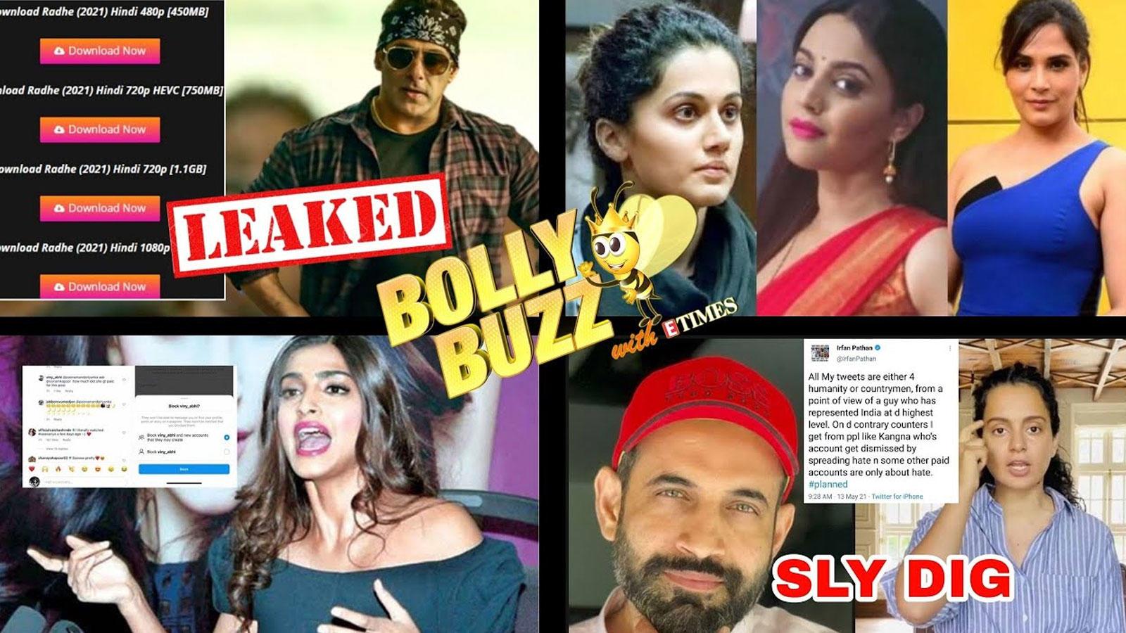 bolly-buzz-salman-khans-radhe-leaked-online-irfan-pathan-slams-kangana-ranaut