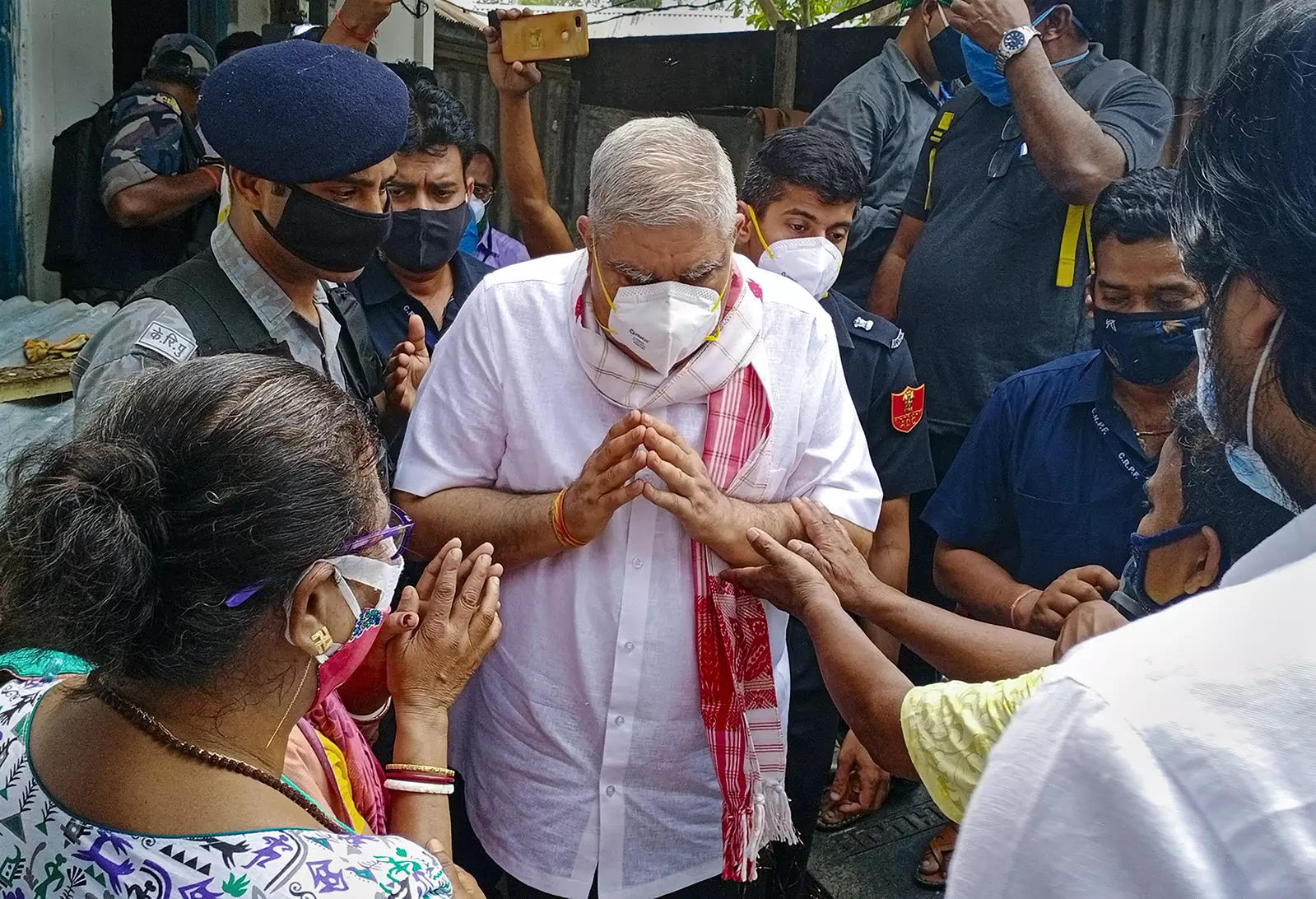 Bengal governor Jagdeep Dhankar to visit violence-hit areas in Nandigram