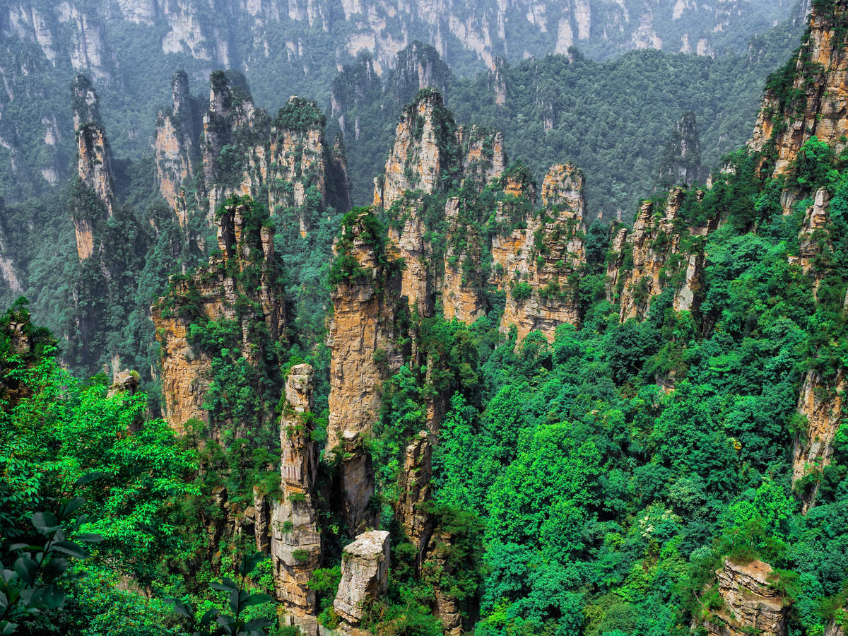 About China's mysterious Tianzi Mountains that featured in Avatar movie