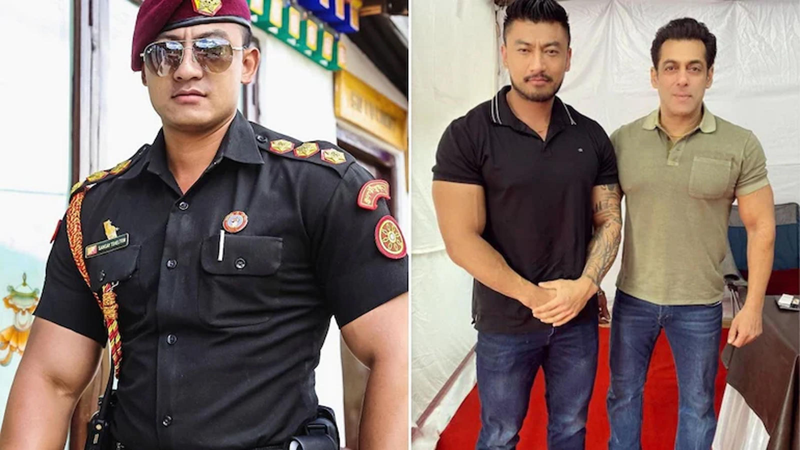 did-you-know-sangay-tsheltrim-who-played-villain-in-radhe-was-a-bhutanese-army-officer