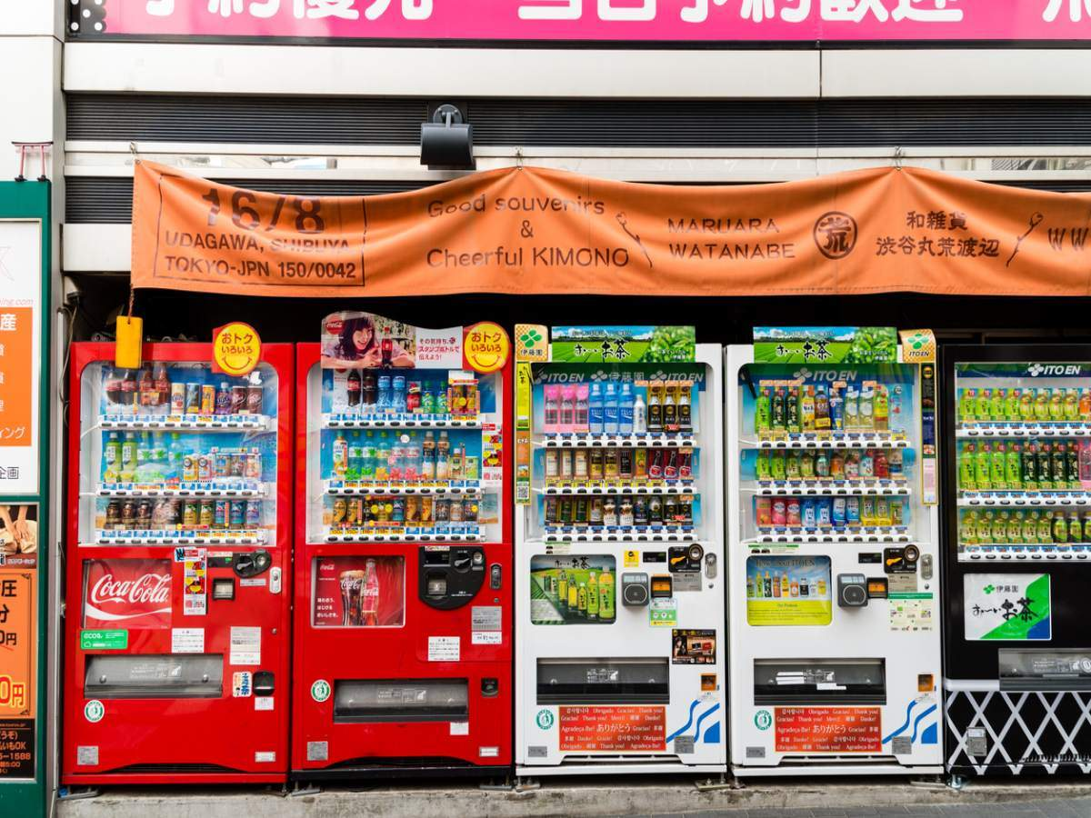 What's the deal with Japan's vending machines?