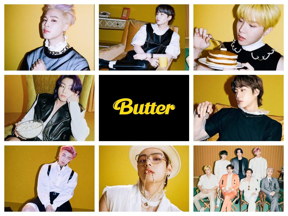 BTS' 'Butter' breaks another 'Dynamite' record; becomes fastest ...