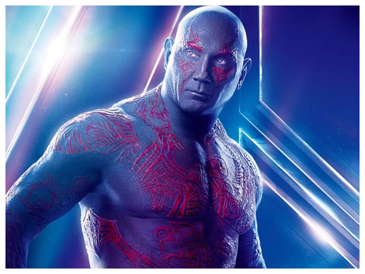 Dave Bautista confirms last appearance as Drax in Marvel's 'Guardians of  the Galaxy Vol. 3'   English Movie News - Times of India