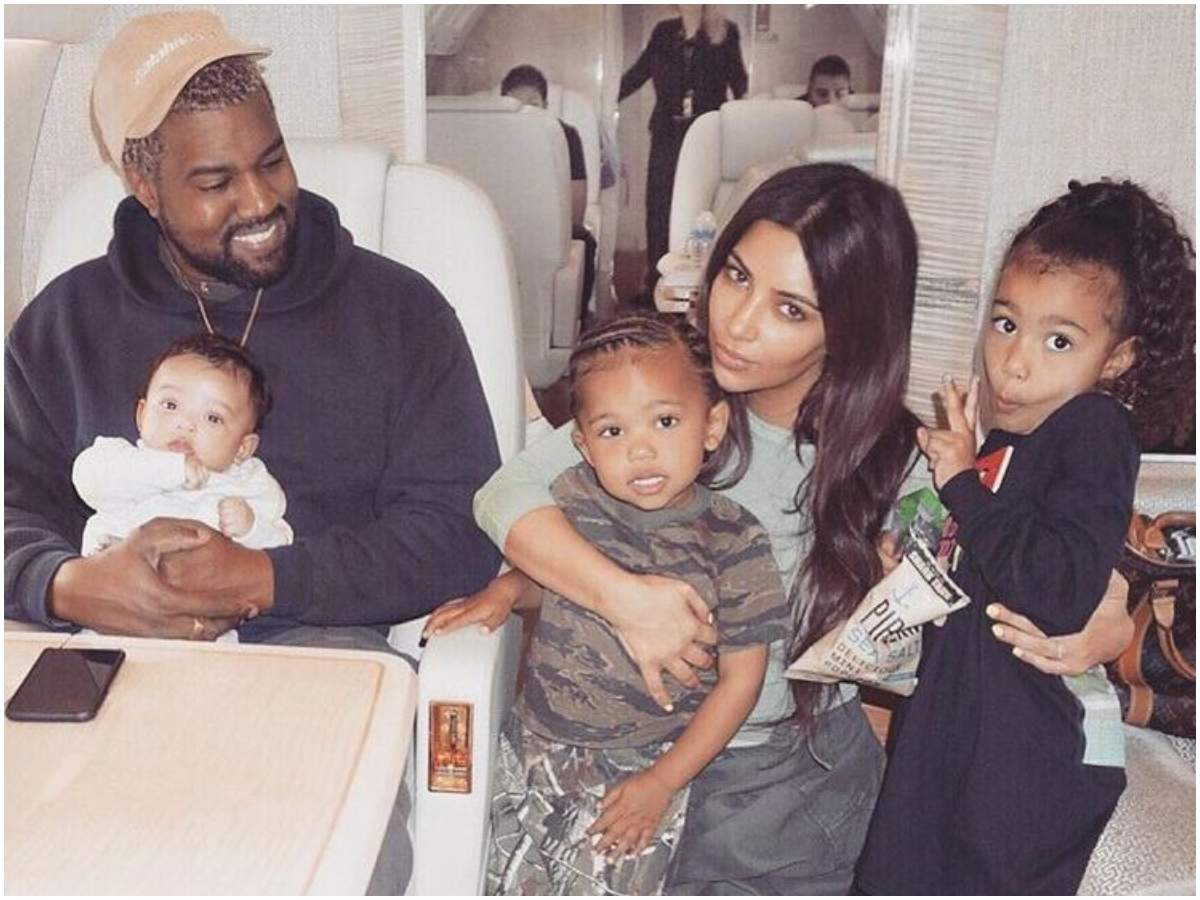Kim Kardashian wishes estranged husband Kanye West on his birthday; says  'Love U for Life' | English Movie News - Times of India