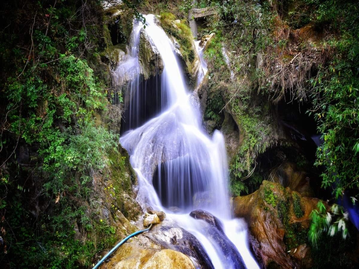 The gorgeous waterfalls of Uttarakhand