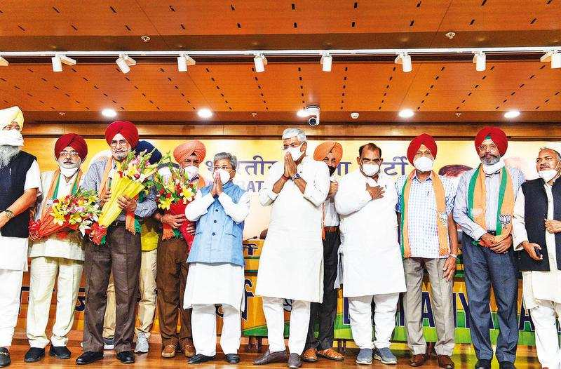 Punjab: New BJP entrant a prominent face of Sikh radical movement in 1980s