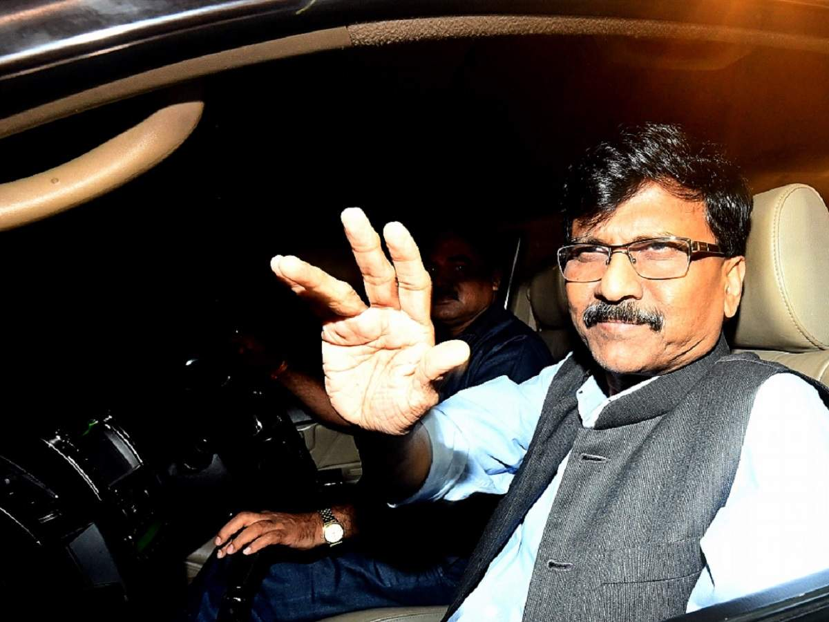 Sanjay Raut: No one has the courage to attack Sena Bhavan, those who tried to come close to it were given 'Shiv Prasad'
