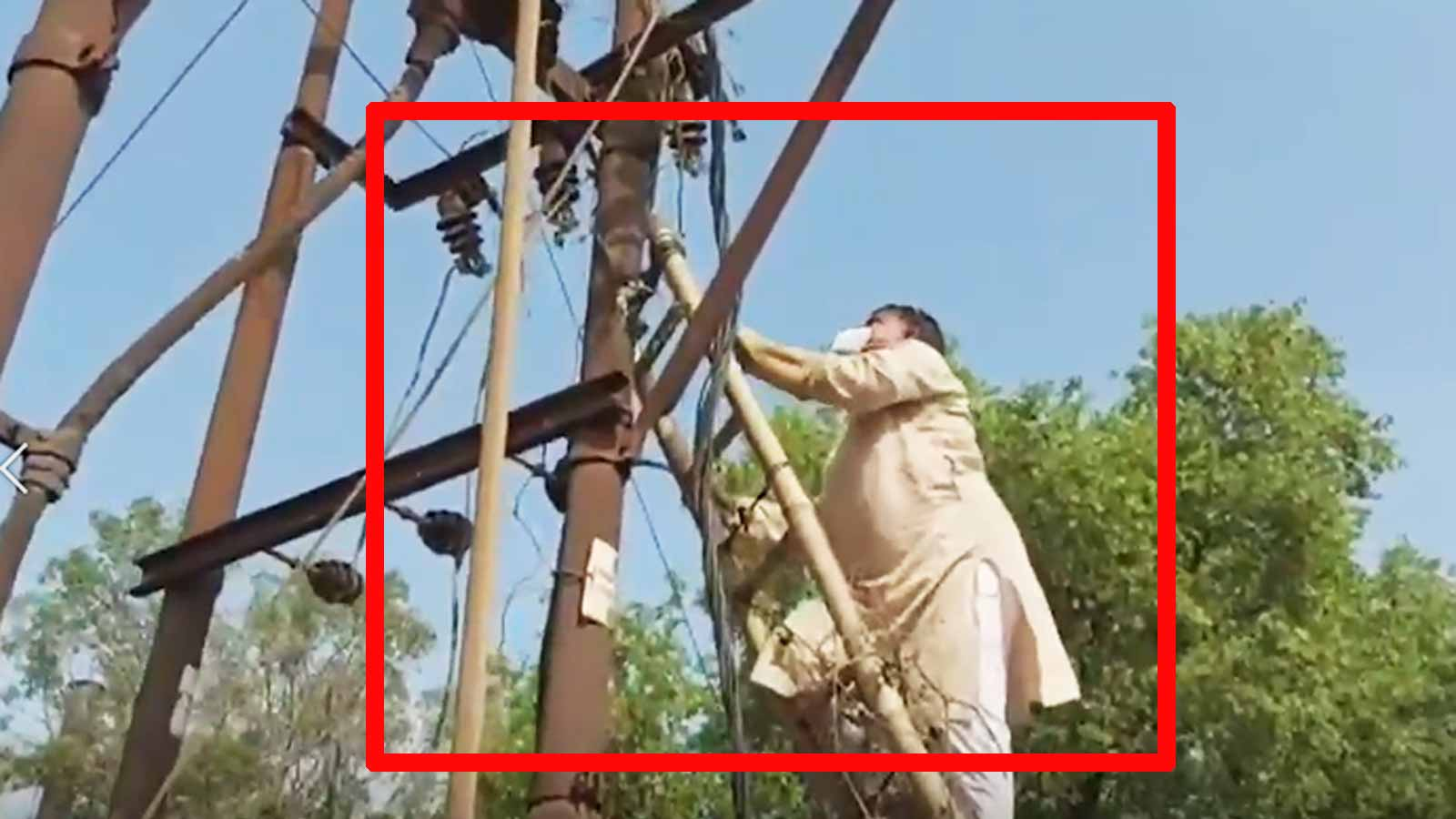 caught-on-cam-mp-minister-blames-dust-for-power-cuts-climbs-electricity-post-to-clean-it
