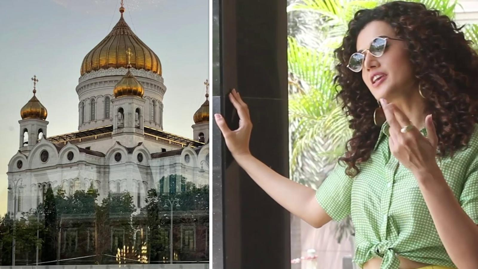 taapsee-pannu-says-wait-what-bangla-sahib-as-she-drops-a-picture-of-moscow-monument-that-looks-a-lot-like-delhis-iconic-gurudwara