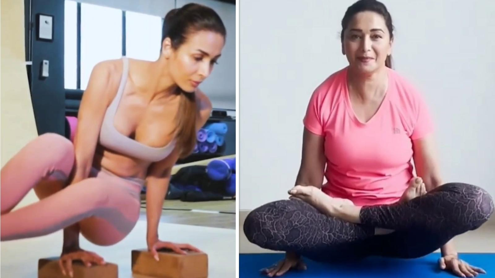 from-madhuri-dixit-to-malaika-arora-this-is-how-b-town-celebrated-international-yoga-day-2021