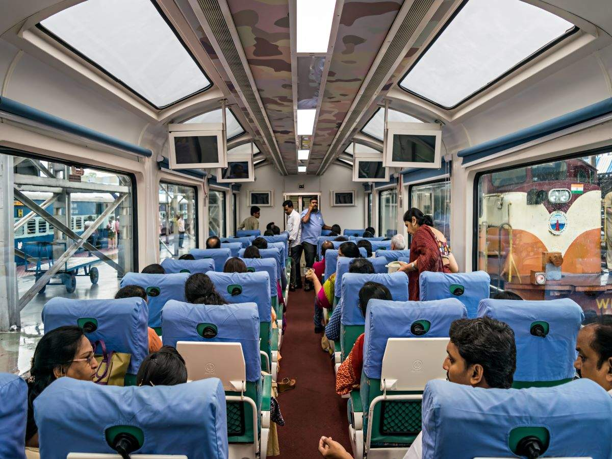 Travel from Mumbai to Pune in Vistadome coaches from June 26