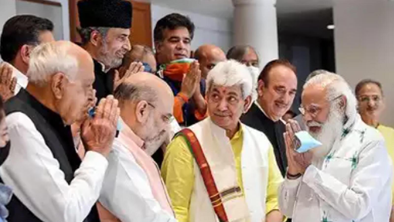 jammu-kashmir-pm-modi-assures-for-early-elections-backs-delimitation