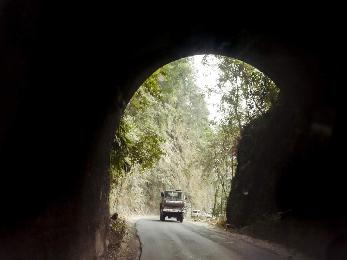 5 longest rail and road tunnels in India
