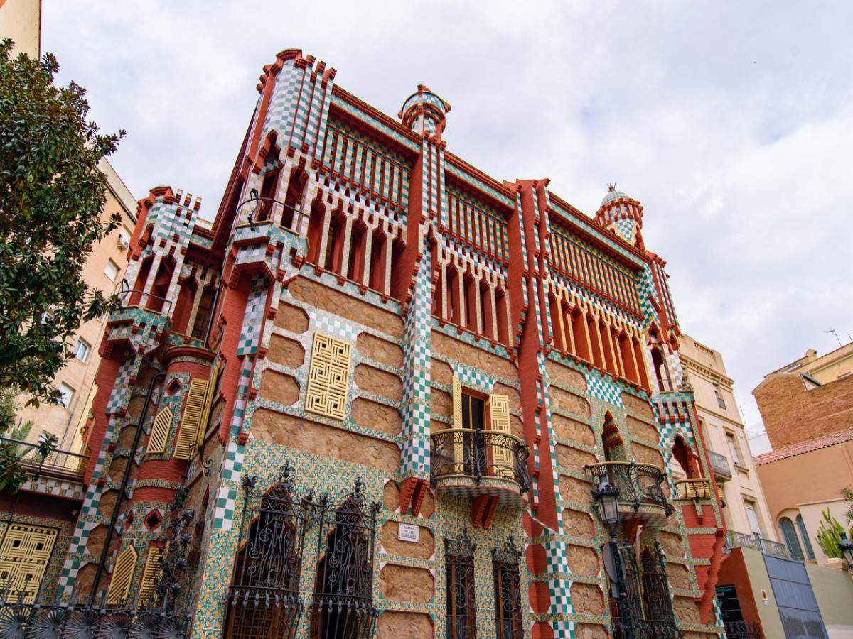Spend a night in a Gaudi work at Barcelona