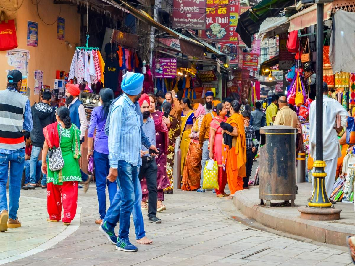 The colourful street markets of Amritsar