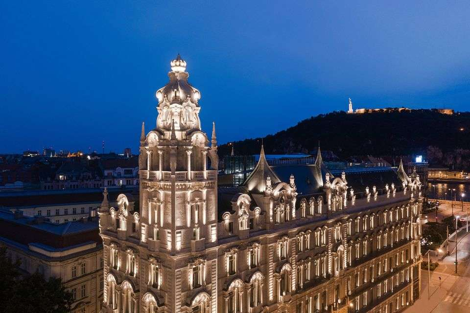 UNESCO World Heritage site in Budapest converted into a luxurious hotel