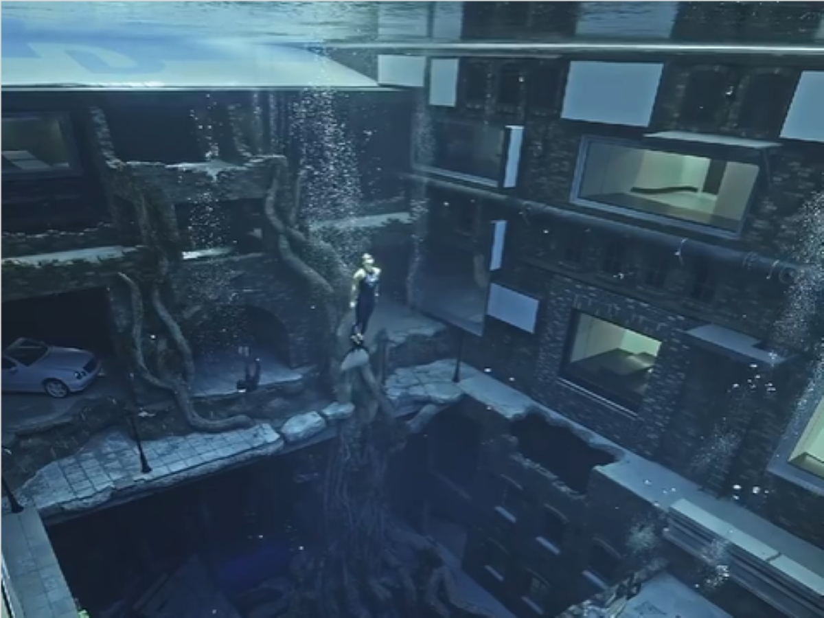 Dubai is now home to world's deepest swimming pool