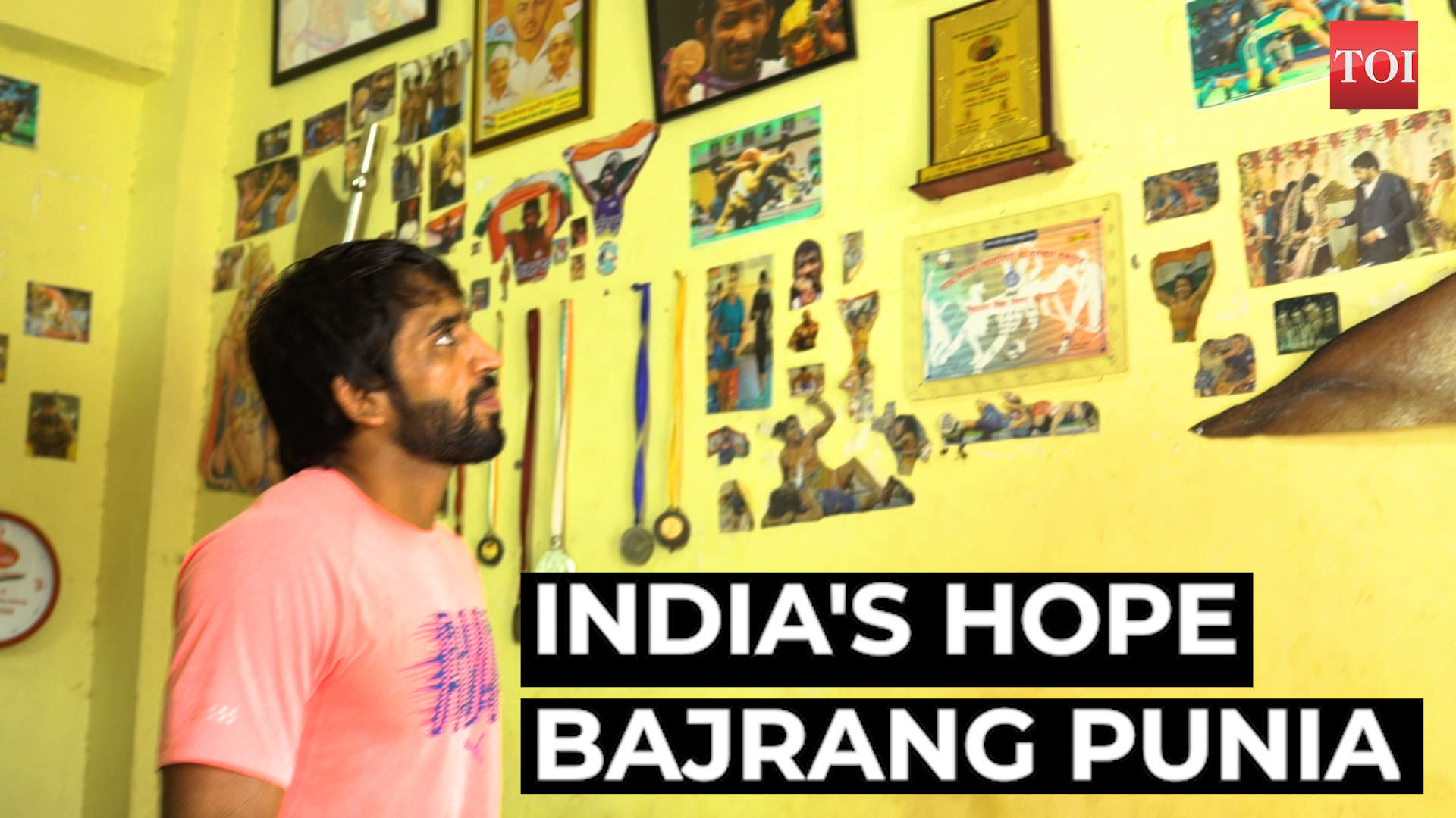 freestyle-wrestler-bajrang-punia-a-strong-contender-at-the-tokyo-olympics