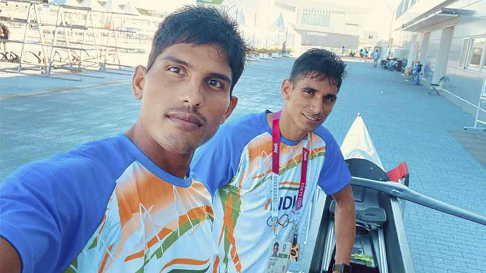 tokyo-olympics-arjun-and-arvind-finish-third-in-lightweight-double-sculls-repechage-qualify-for-semifinals