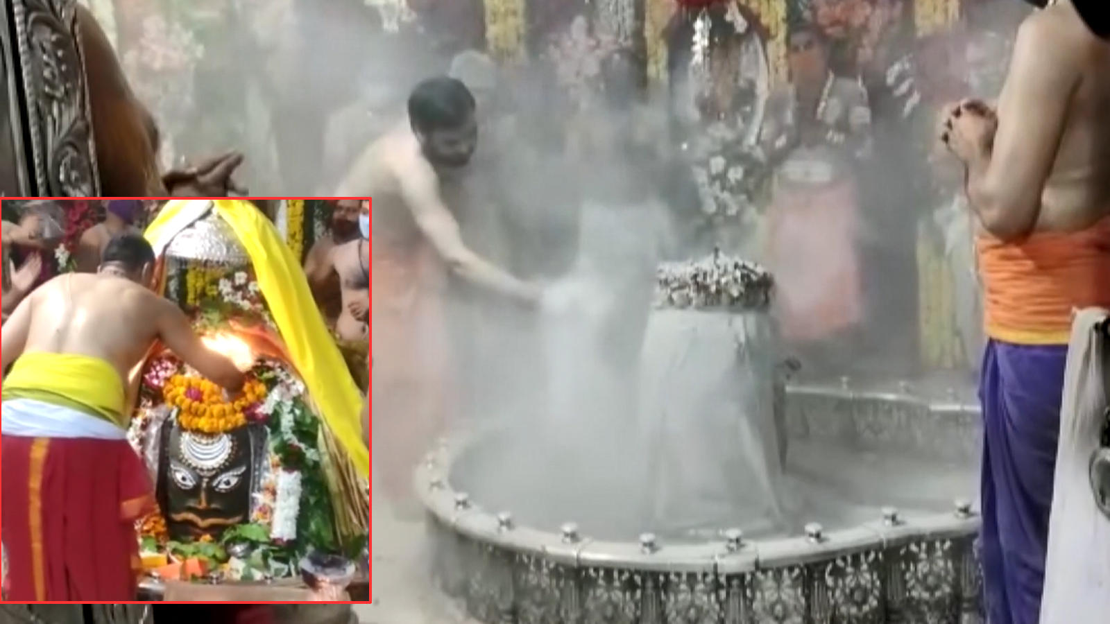 watch-bhasma-aarti-performed-at-ujjain-temple-on-first-monday-of-sawan