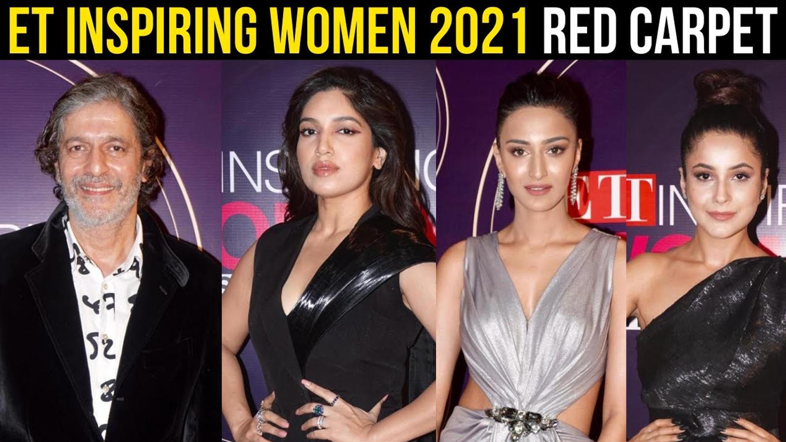 et-inspiring-women-2021-bhumi-pednekar-chunky-panday-erica-fernandes-shehnaaz-gill-red-carpet