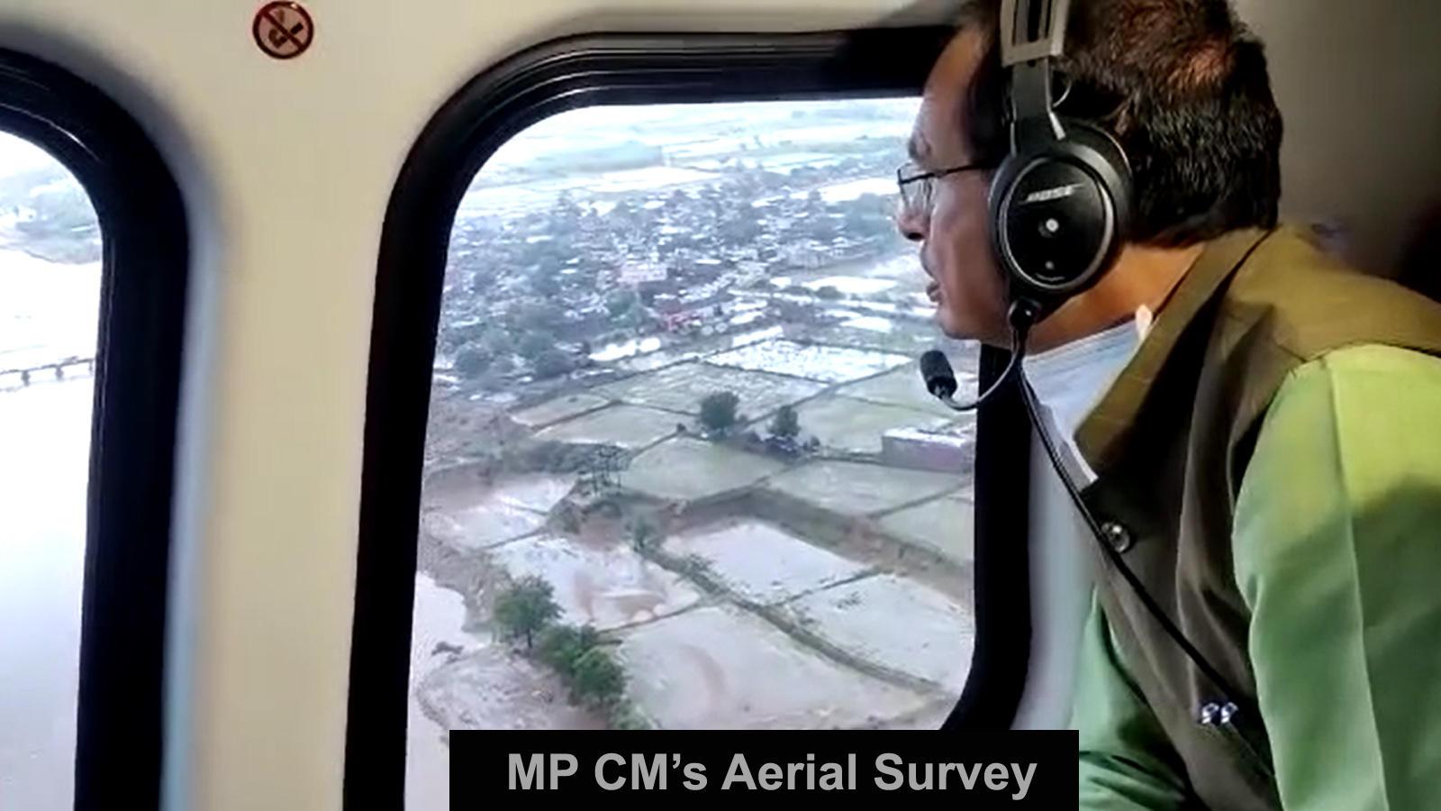 madhya-pradesh-shivraj-singh-chauhan-conducts-aerial-survey-of-flood-hit-areas
