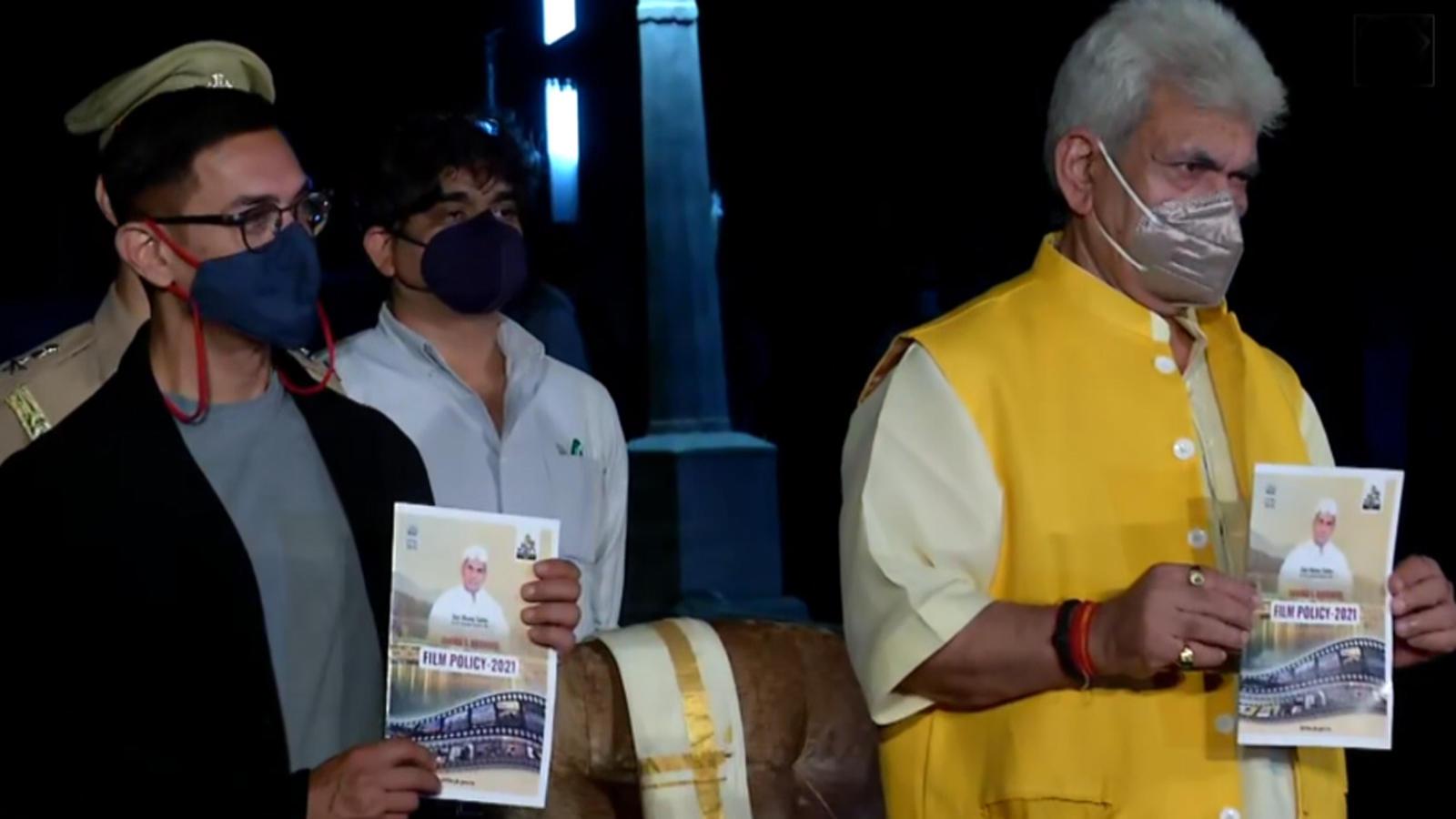 aamir-khan-rajkumar-hirani-and-mahaveer-jain-join-jk-lg-manoj-sinha-for-the-launch-of-new-film-policy