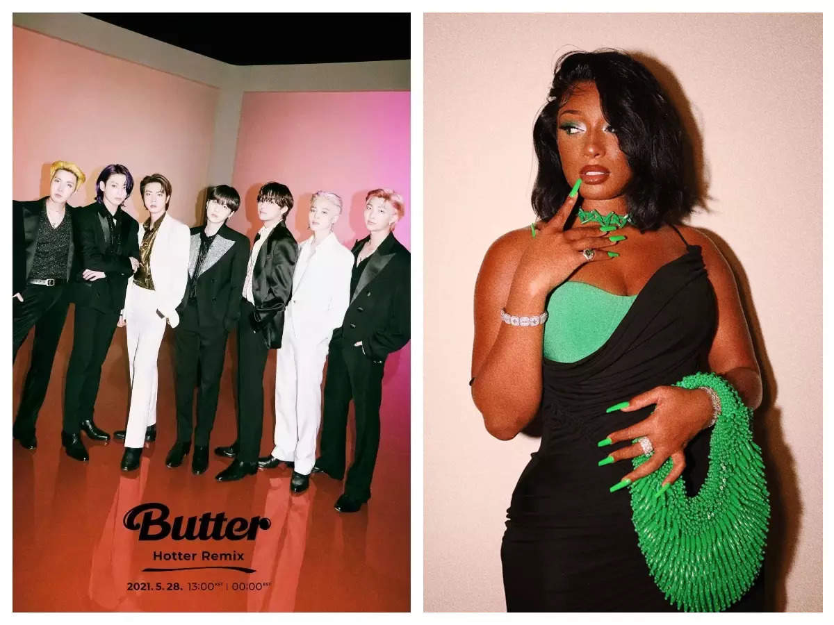 BTS 'Butter' Remix Feat. Megan Thee Stallion is here and it's smooth like  'coco butter' - WATCH