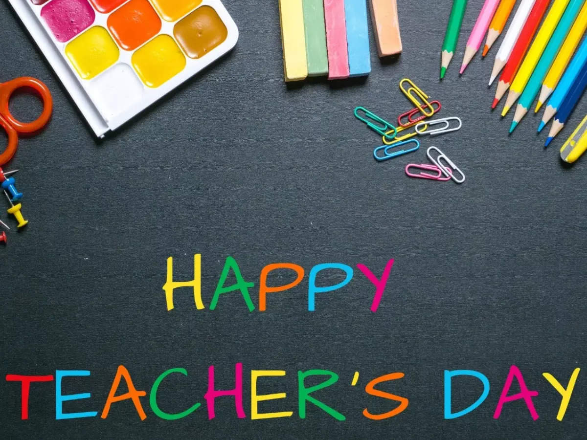 Happy Teachers Day 2021: Top 50 Wishes, Messages, Quotes, Shayari, Poems to wish your teachers & honour them - Times of India