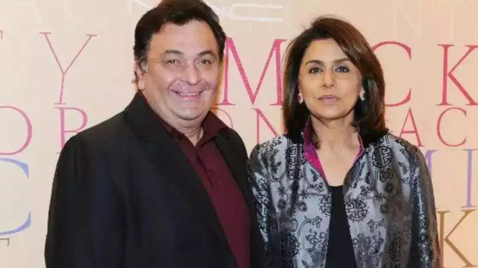 Neetu Kapoor shares memories of 'highs' and lows' from Rishi Kapoor's last  few years: He taught me to be strong | Hindi Movie News - Times of India