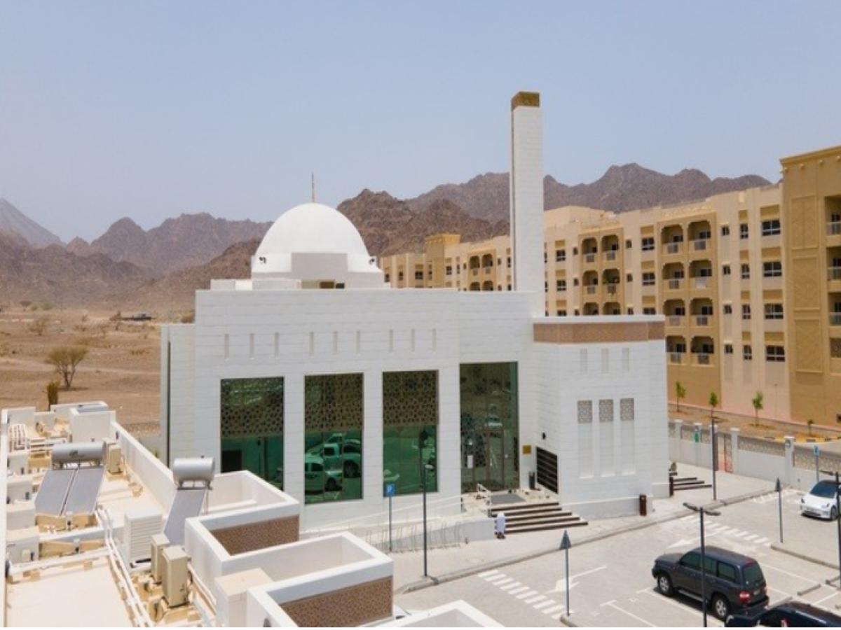 Dubai gets world's first 'green' mosque