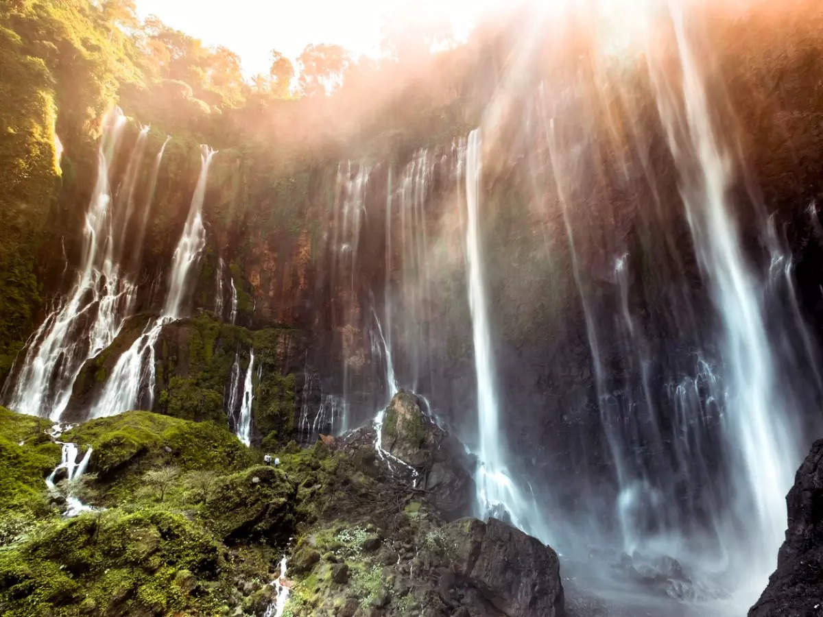 Discovering the world's five tallest natural waterfalls