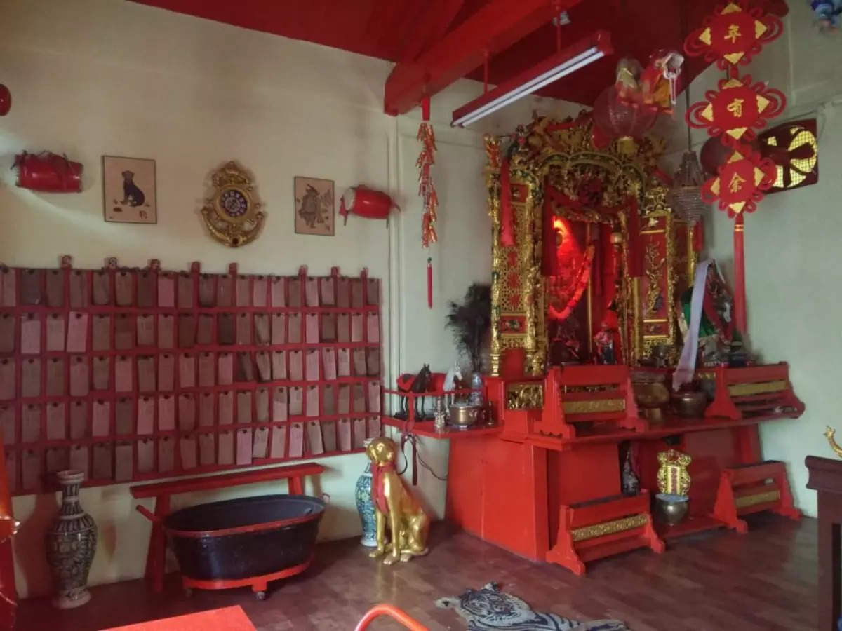 The only surviving Chinese temple in Mumbai's lost Chinatown