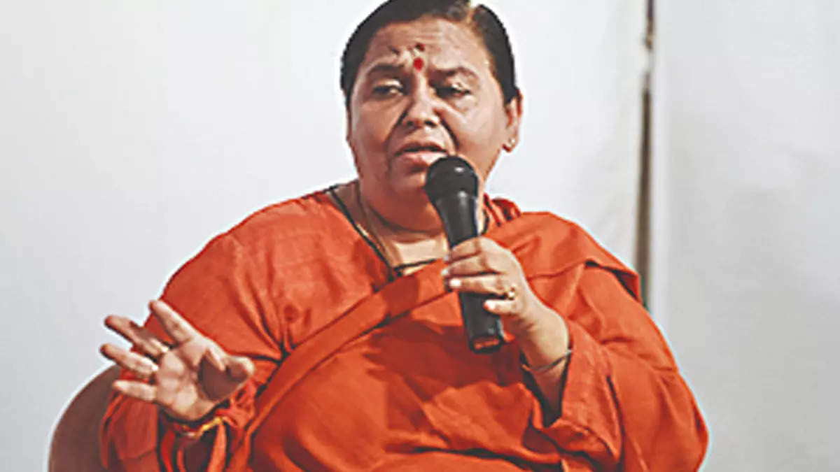 MP: 'Force' needed for prohibition, not awareness, says Uma Bharti