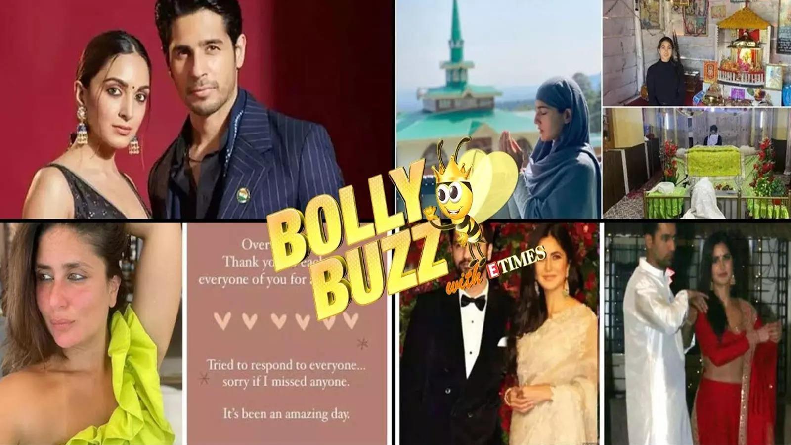 bolly-buzz-sidharth-malhotra-breaks-his-silence-on-wedding-plans-sara-ali-khan-shares-a-glimpse-of-her-vacation