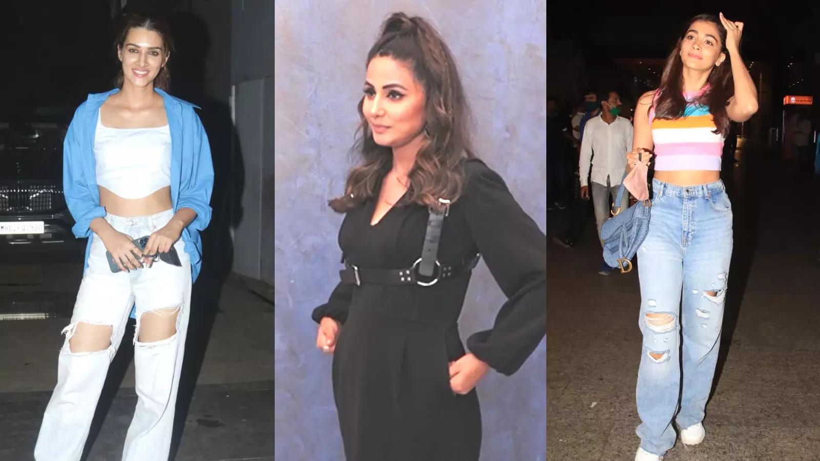 celebritiyevenings-from-kriti-sanon-to-pooja-hegde-bollywood-celebs-spotted-in-mumbai